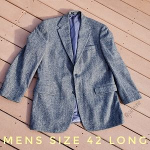 CHERESKIN Camel Hair Herringbone Jacket Men 42L